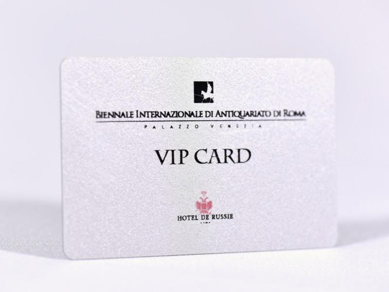 CARD PLASTIFICATE PER MUSEI